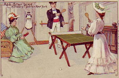 'Victorian ping pong