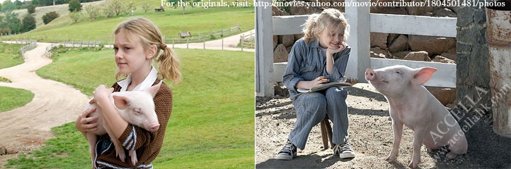 Dakota Fanning will star in the 2006 live-action remake of 'Charlotte's Web''