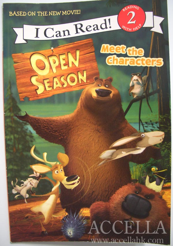 The reader that we're using at the moment is based on the upcoming animated feature film 'Open Season'.