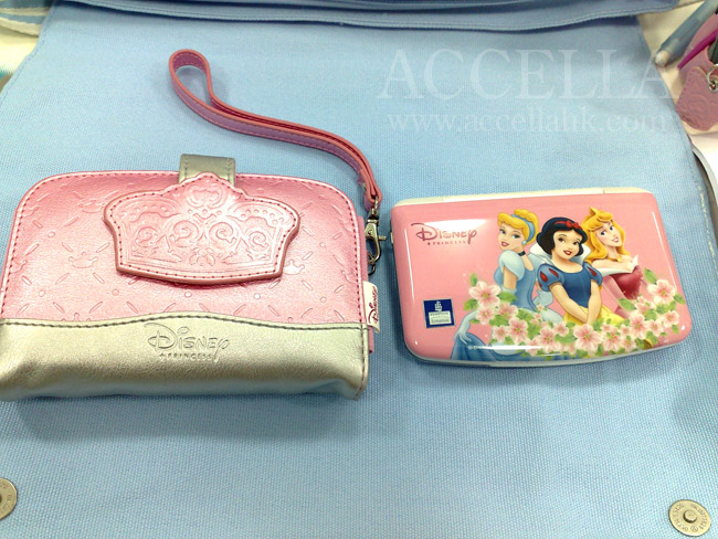 DaisyL's lovely Disney Princess electronic dictionary and its embossed zip-up case.