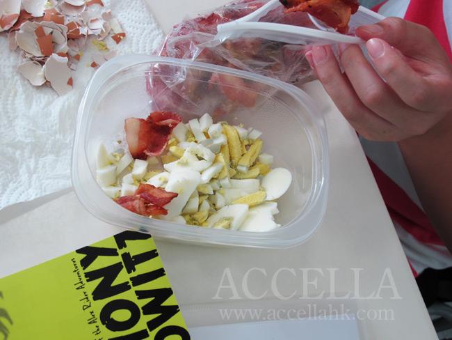 HermesW's proto-egg-salad.